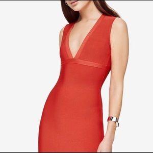 BCBGMaxAzaria Oralie Cutout Dress (RARE)